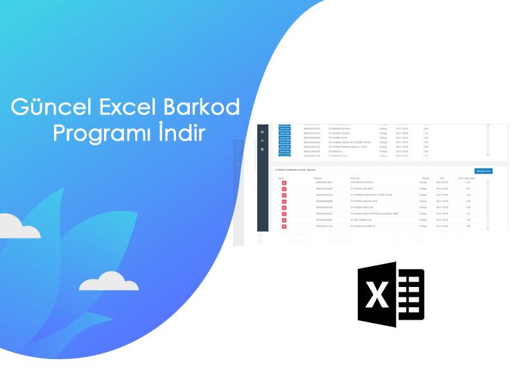 Güncel Excel Barkod Programı İndir 2020! - guncel excel barkod programi indir