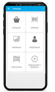 iOS Barkodlu Satış Programı